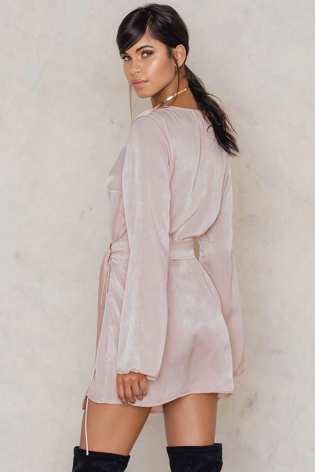 A-List Wrap Dress NA-KD.COM