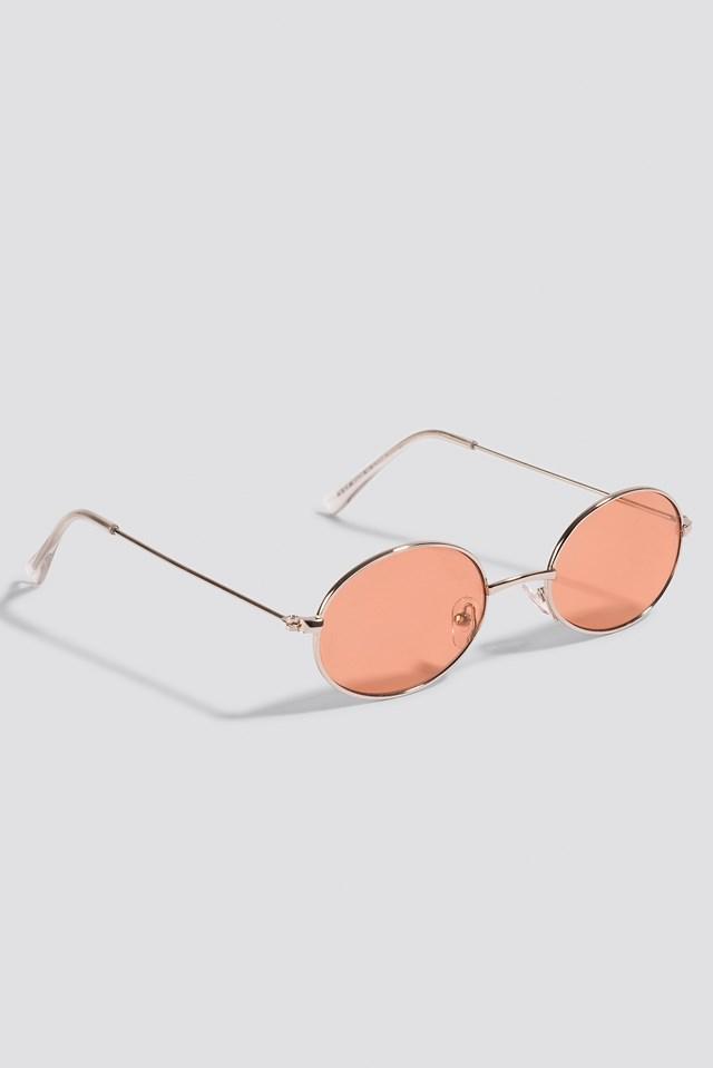 Oval Colored Sunglasses NA-KD.COM