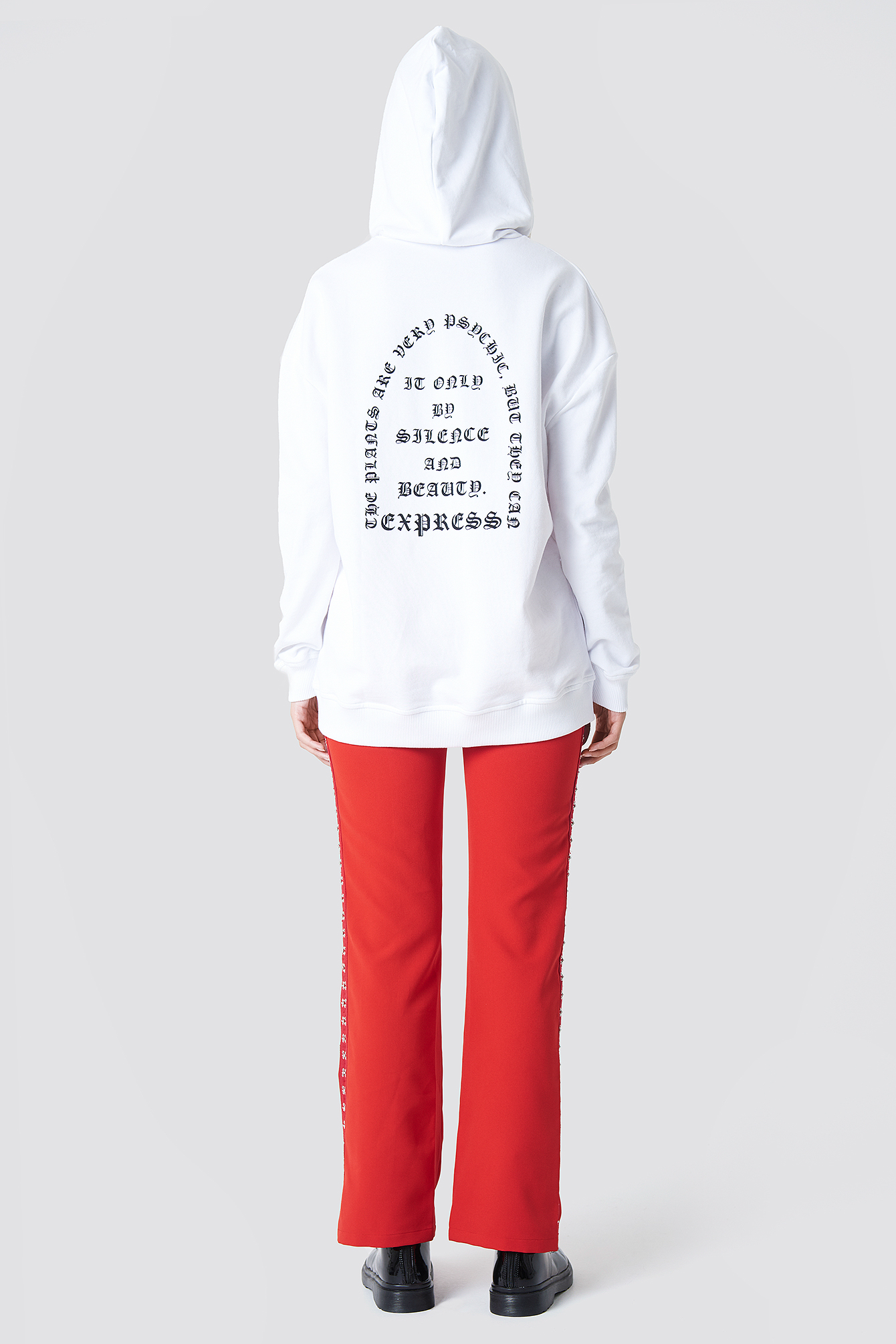 Bluza oversize z kapturem NA-KD.COM
