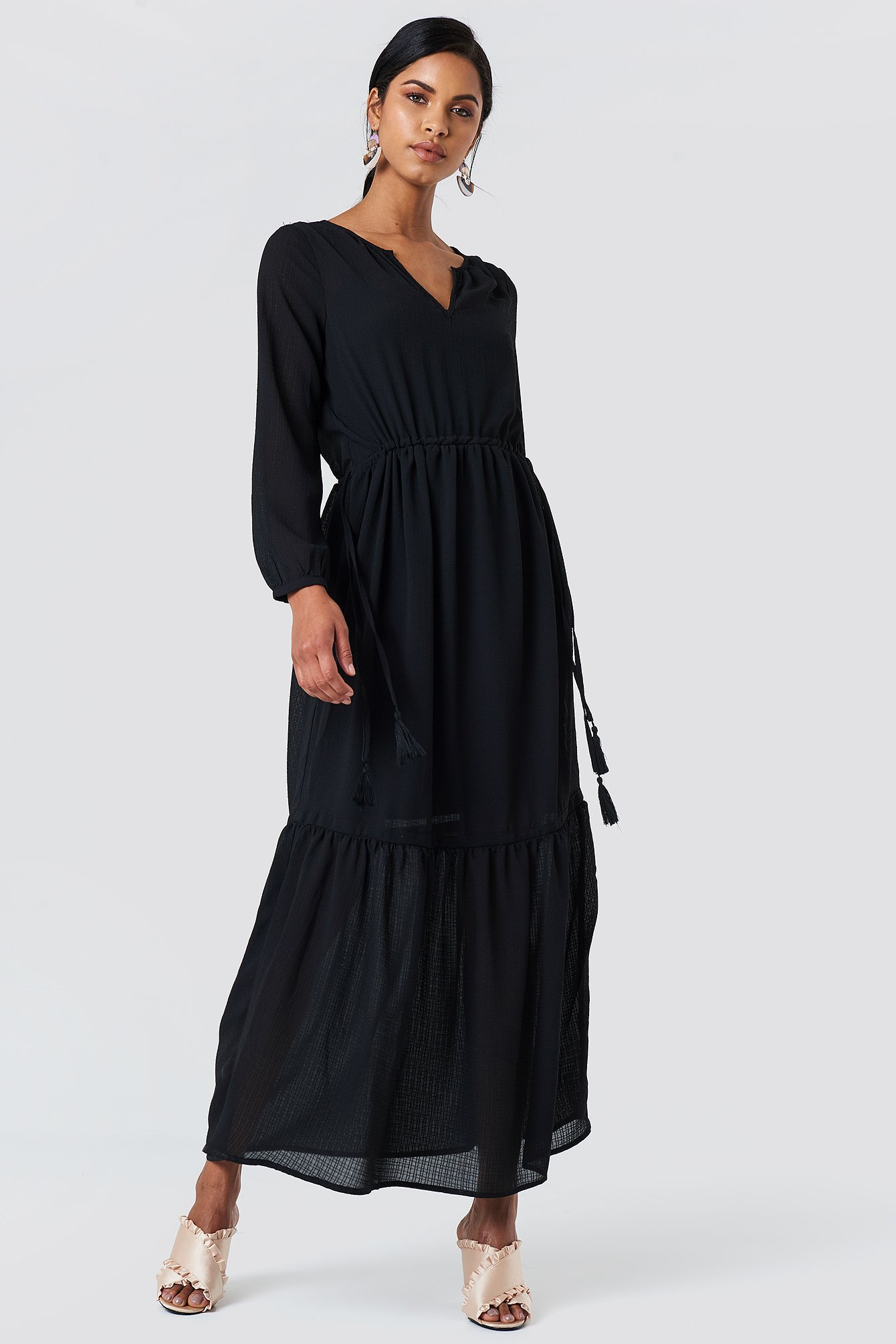 Check Long Dress NA-KD.COM