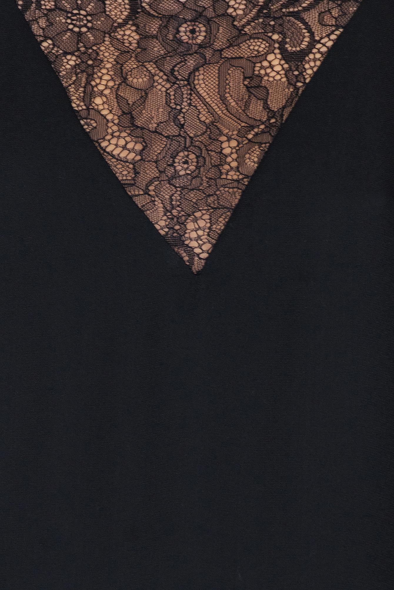 Black Biaf Lace Top