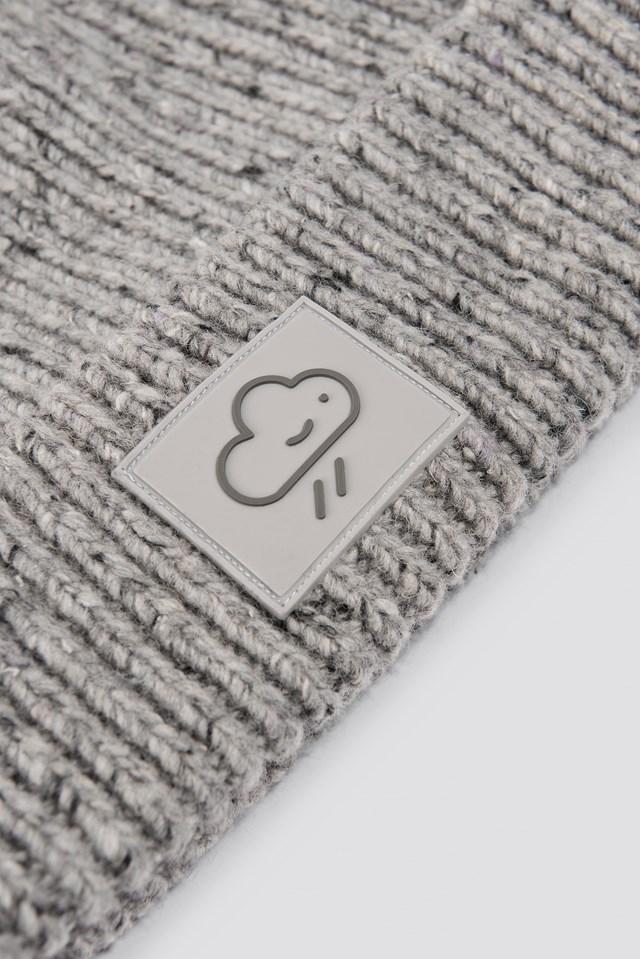 Consetta Hat Grey Melange