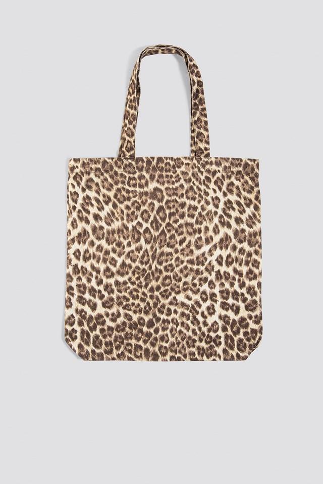 Graphic Shopper Bag Aop Leopard