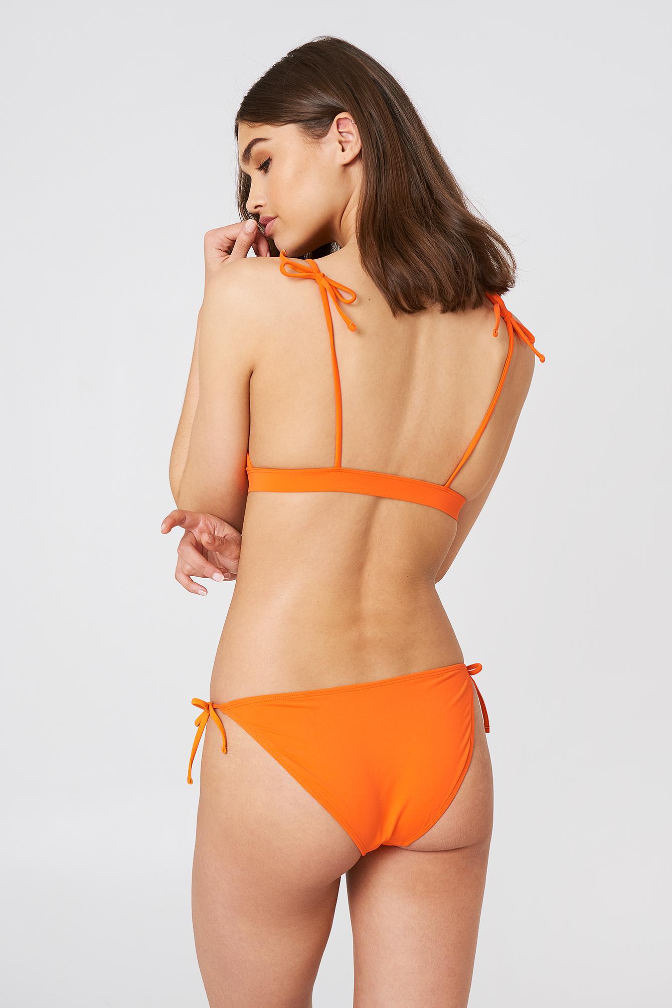samsoe samsoe myrara bikini bottom orange modesens. Black Bedroom Furniture Sets. Home Design Ideas