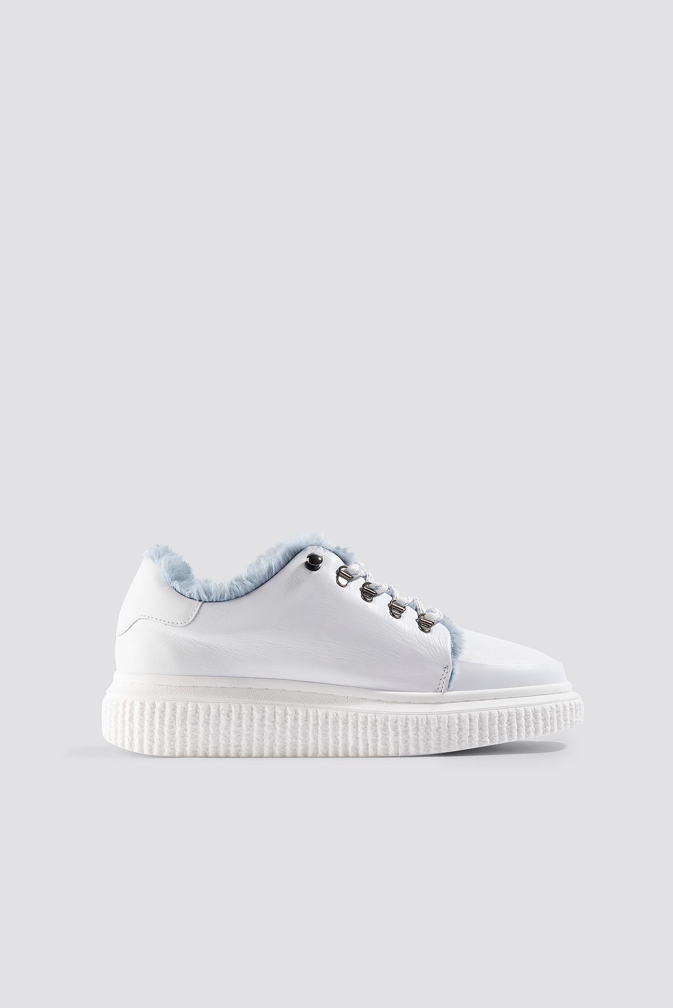 Vala Fur Sneakers NA-KD.COM