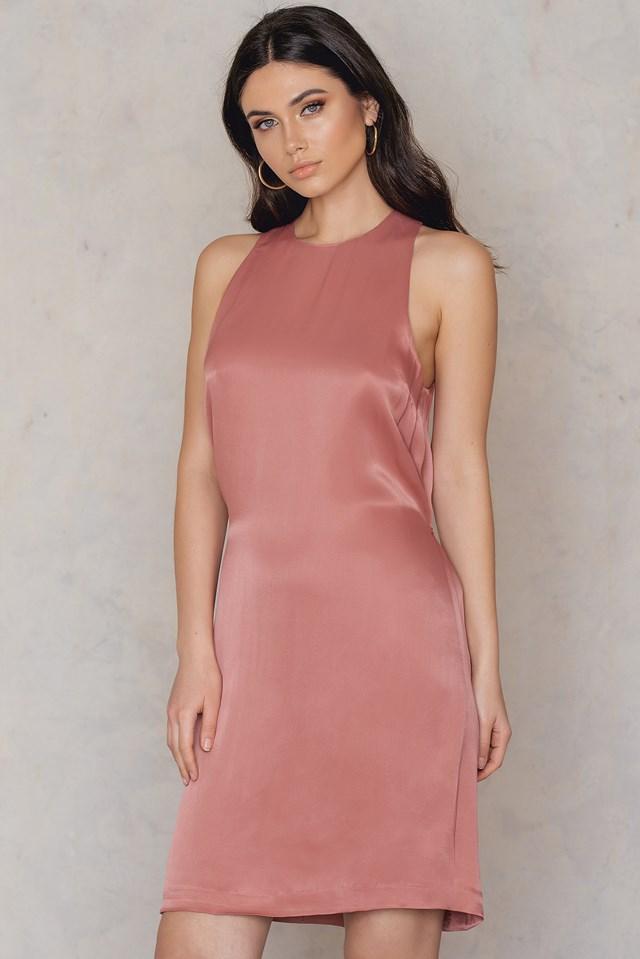 Allyson S Dress Light Mahog