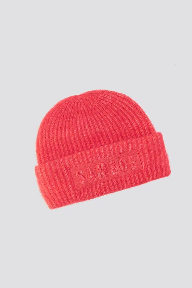 Banky Logo Hat Hibiscus