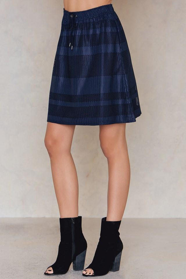 Bonne Skirt Dark Sapphire