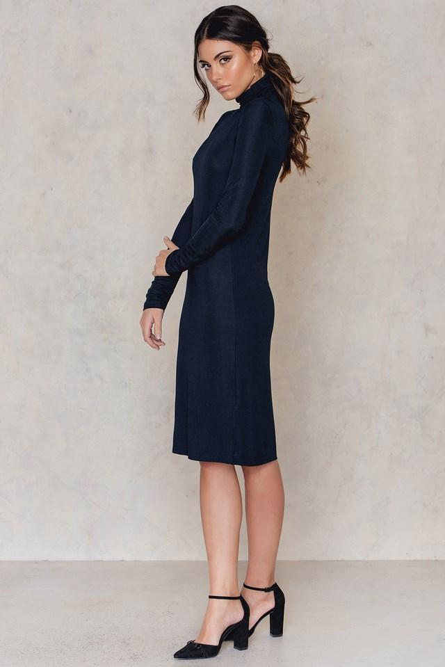 Celeste Dress Dark Sapphire