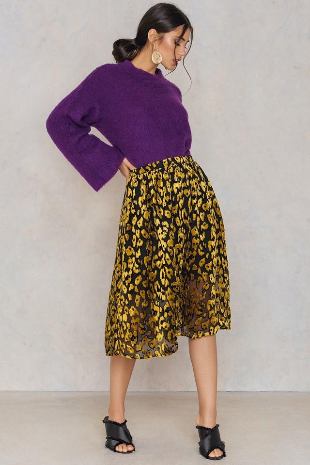 Kayla Long Skirt Golden Rod