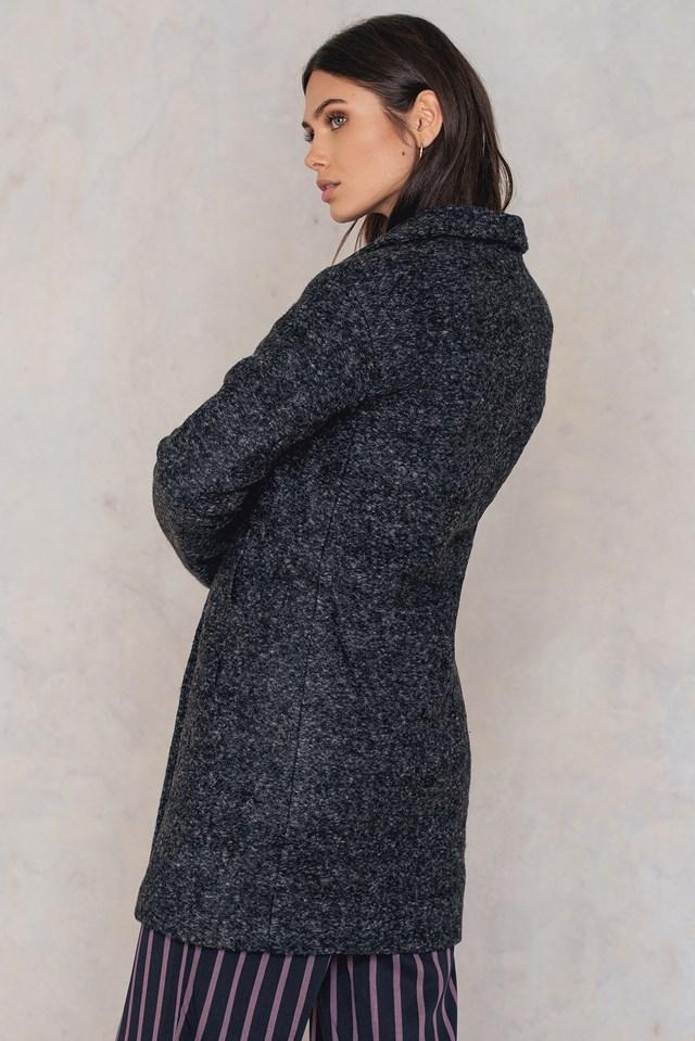 Mildred Jacket Black Melange