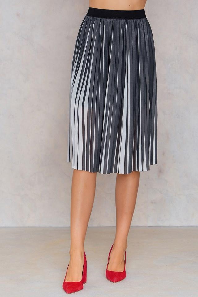Roxanne Skirt Aop Black