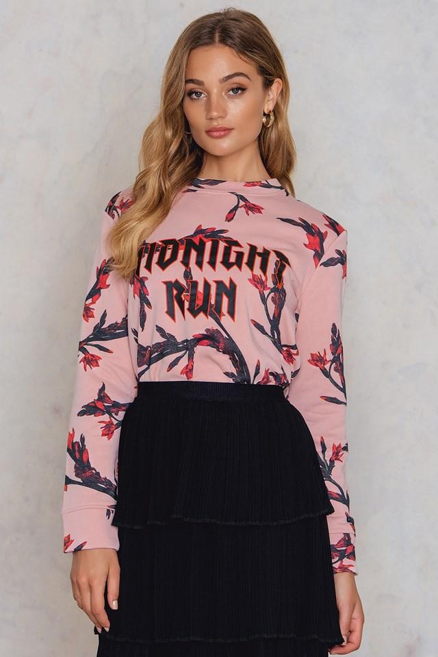 Apin O-N Aop Sweater NA-KD.COM