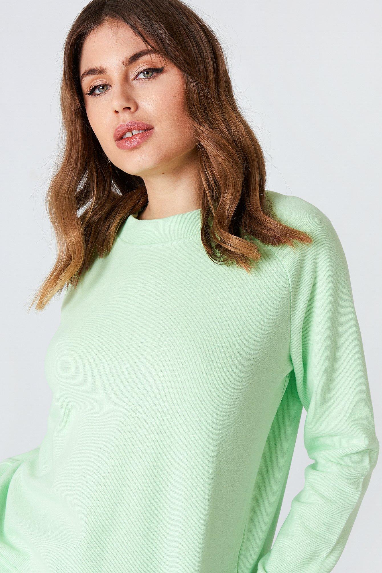 Bluza z okrągłym dekoltem Apo NA-KD.COM