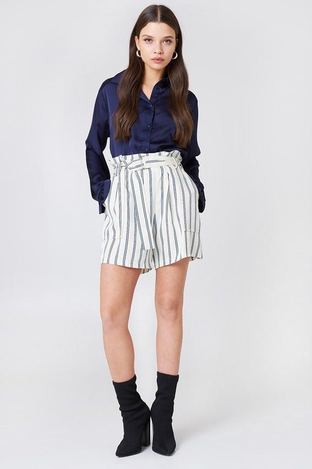 Balmville Shorts Aop Whitecap St