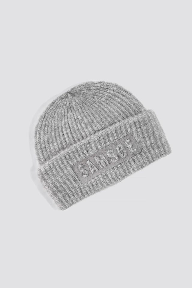 Banky Logo Hat Grey Mel