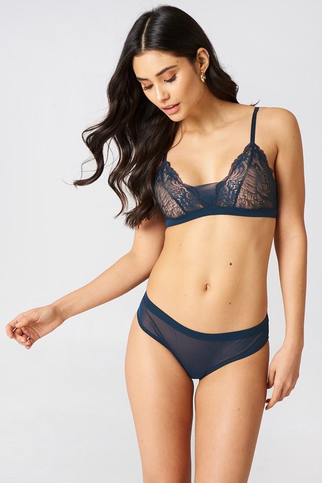 Clover Panties Dark Sapphire