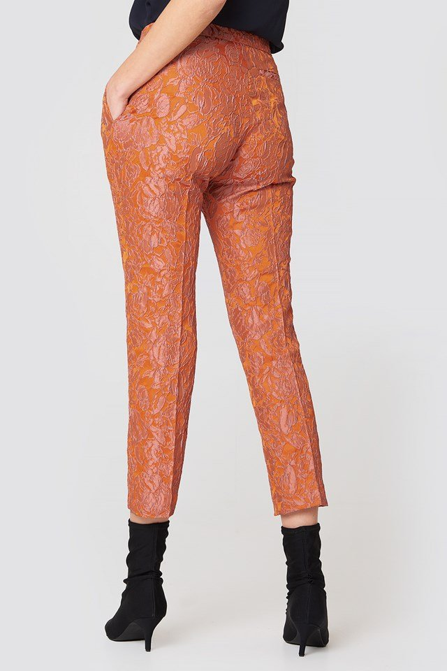 Cybill Pants Puffins Rose