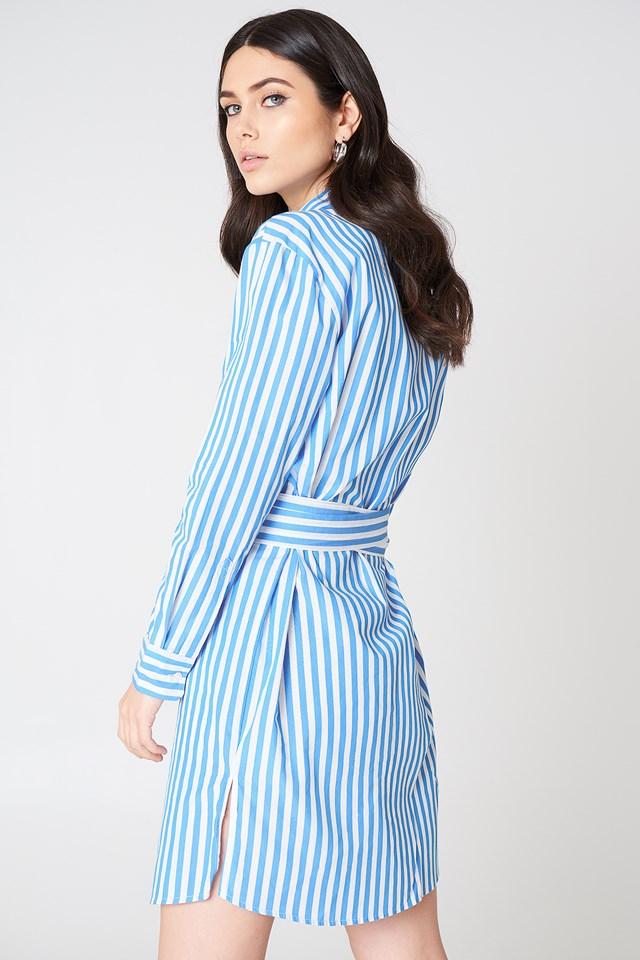 Dayne Shirt Dress Bonnie Stripe