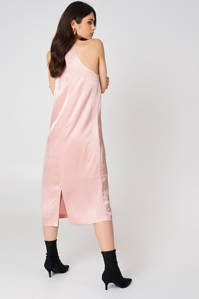 Elsa Dress Silver Pink