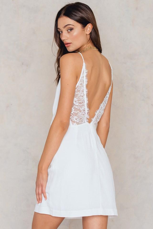 Ginni S Dress Clear Cream
