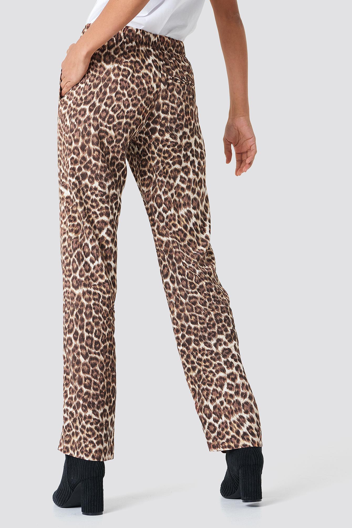 Hoys Straight Pants Aop NA-KD.COM