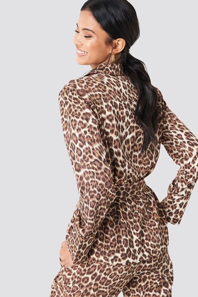 Karri Shirt Aop Leopard