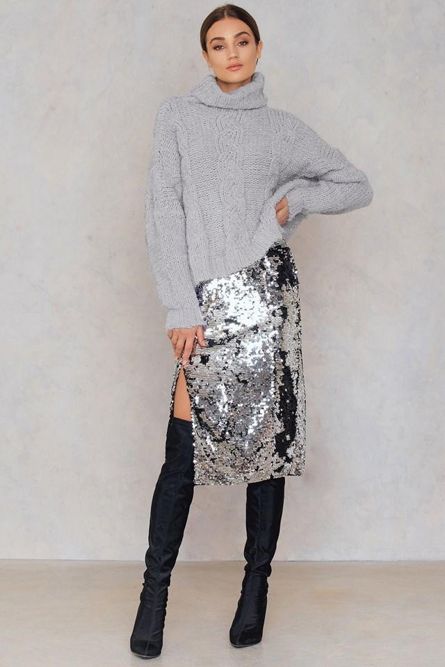 Kelis Skirt Silver