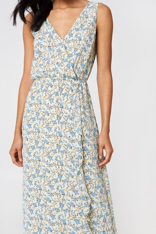 Limon Long Dress Aop Blossom