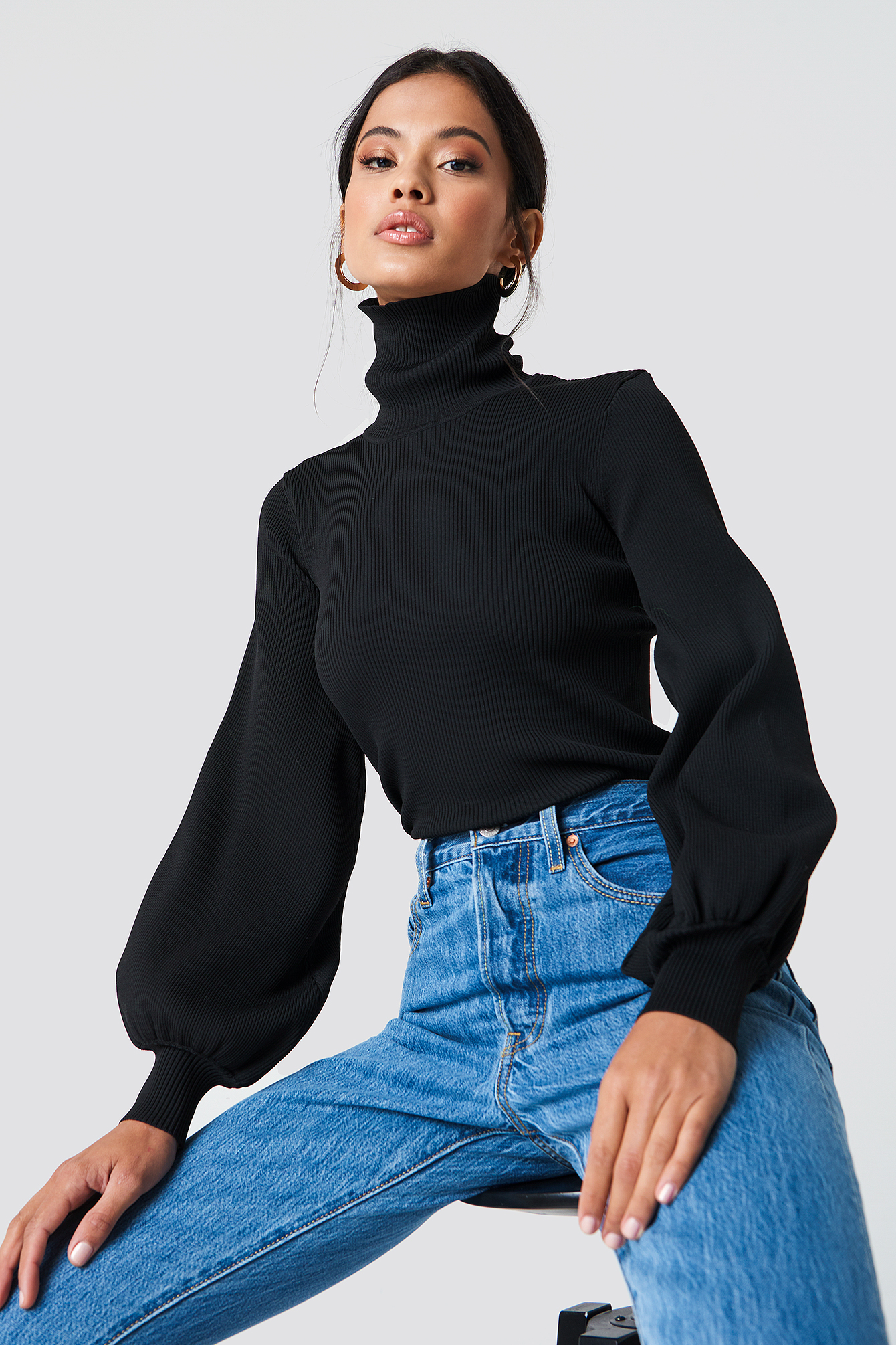 Lua Turtleneck Sweater NA-KD.COM