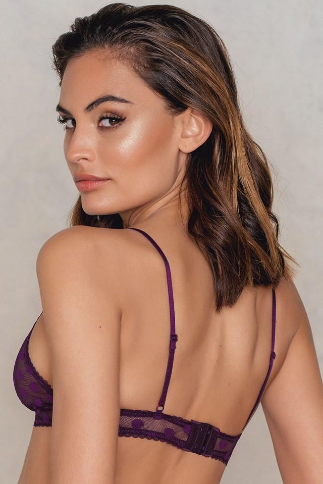 Maria Bra Dark Purple