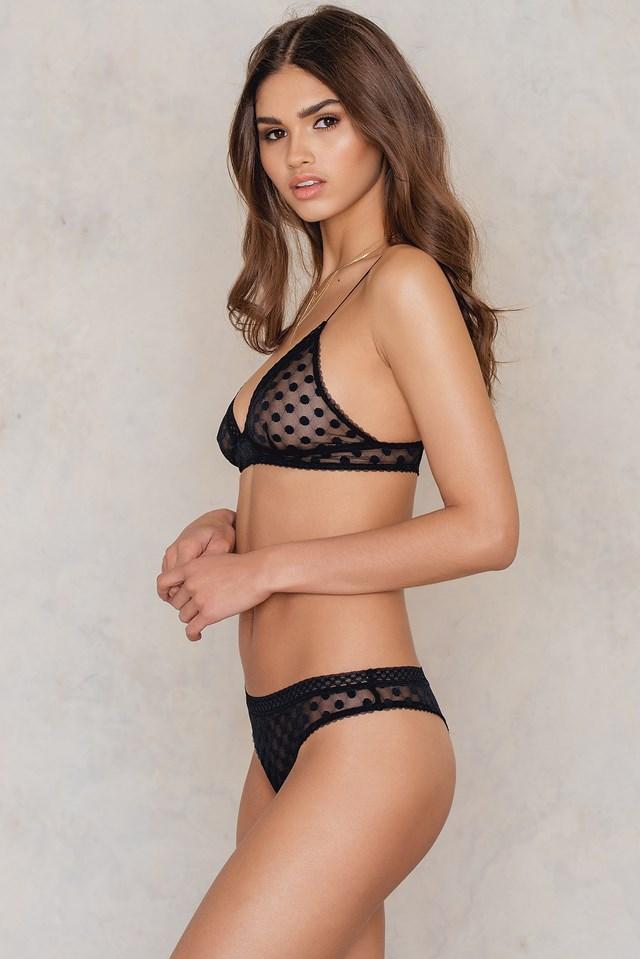 Maria String Black