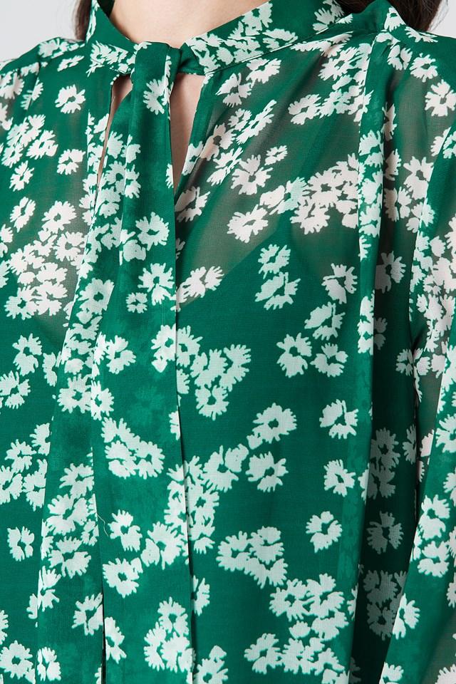 Merritt LS Dress Aop Daisy