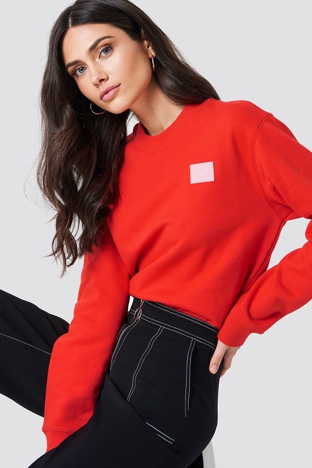 Nadin O-N Sweater Flame Scarlet