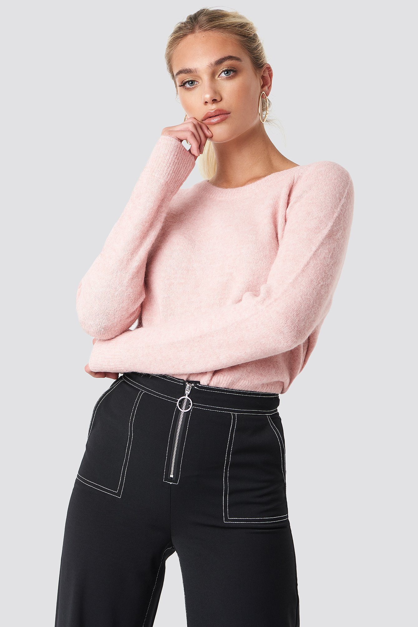 Nor O-N Short Sweater NA-KD.COM