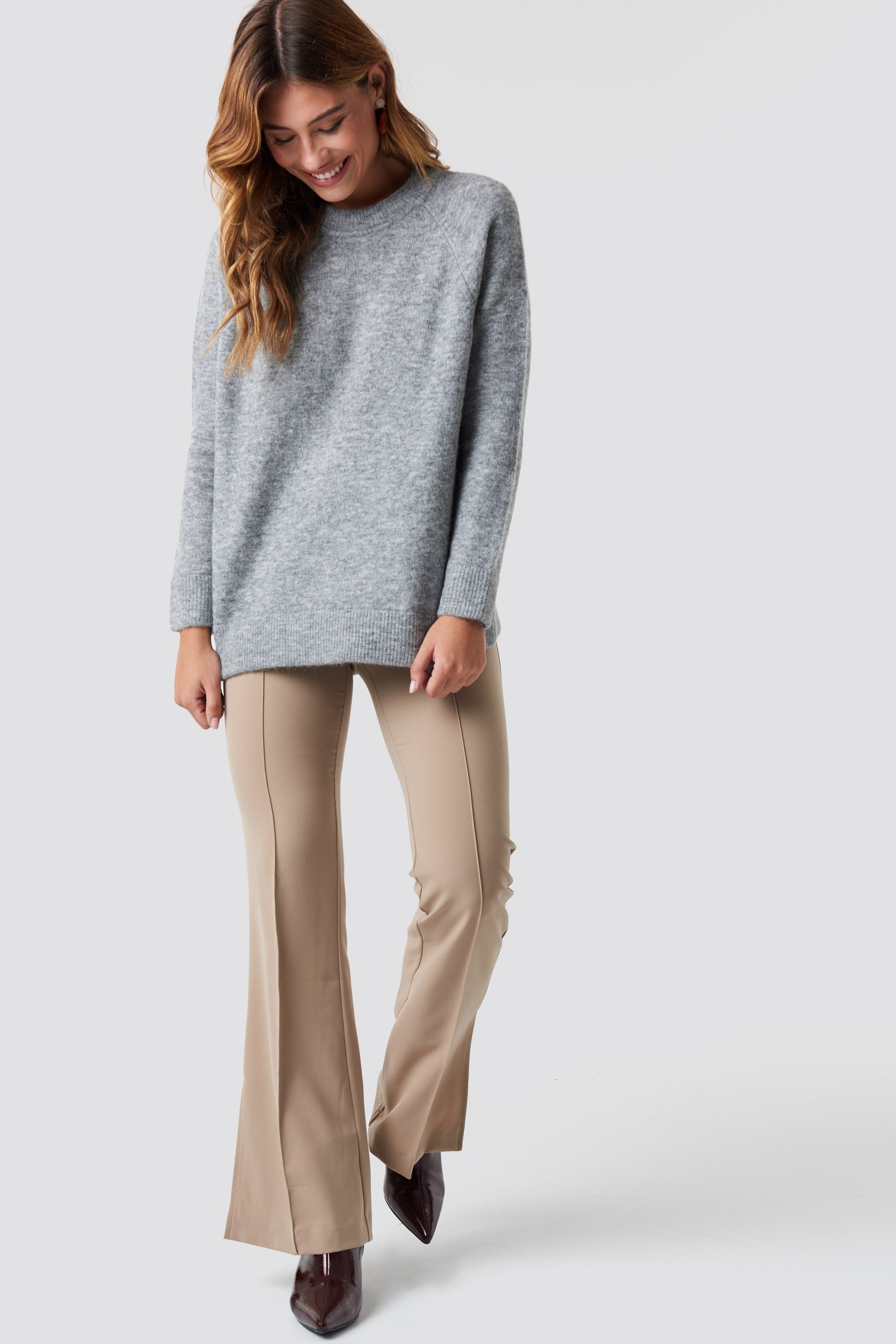 Nor O-N Long Sweater NA-KD.COM