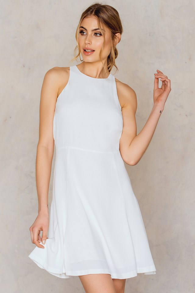 Sing S Dress Clear Cream