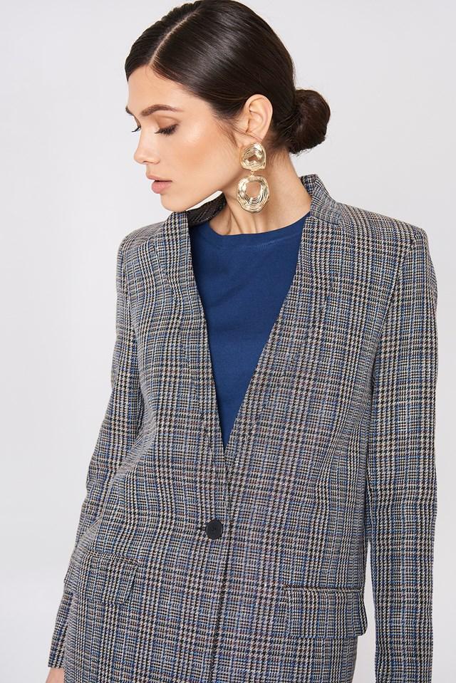 Tansy Jacket Patina Check