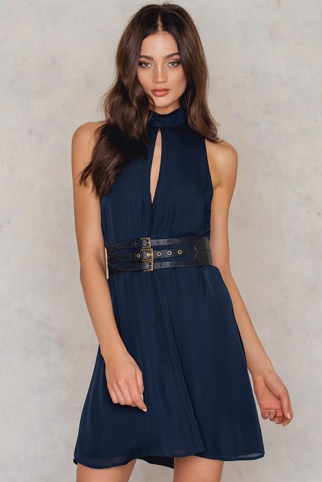 Tonya Dress Dark Sapphire