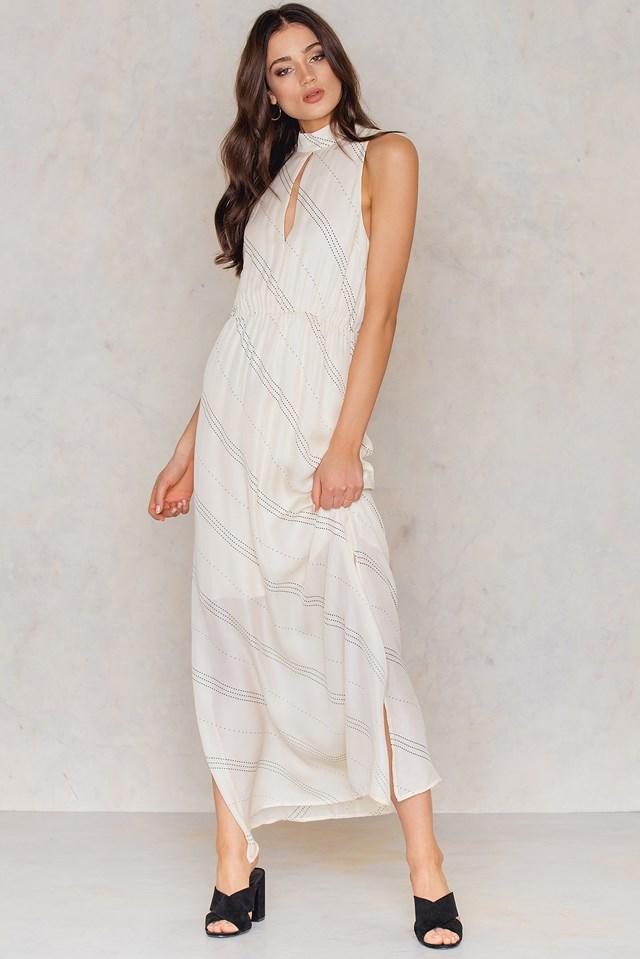 Tonya L Dress Aop Raye