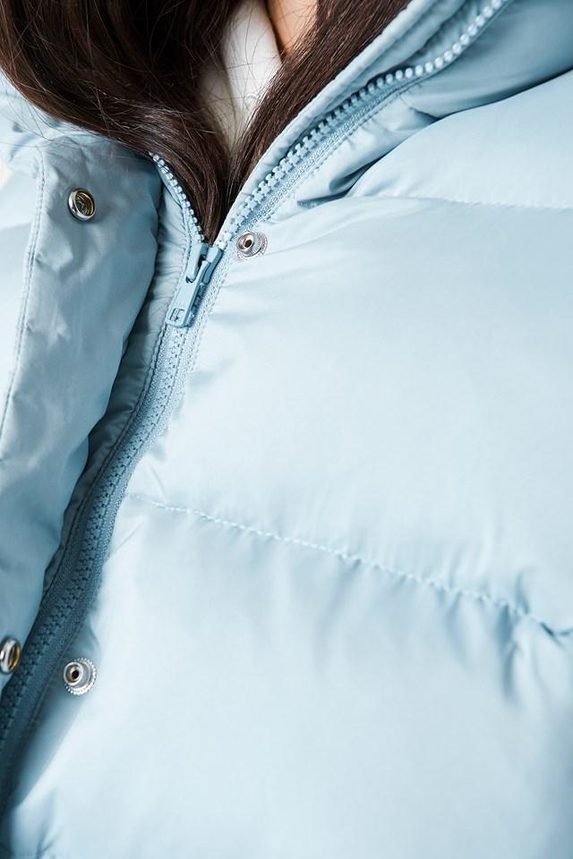 vinda jacket dusty blue na. Black Bedroom Furniture Sets. Home Design Ideas