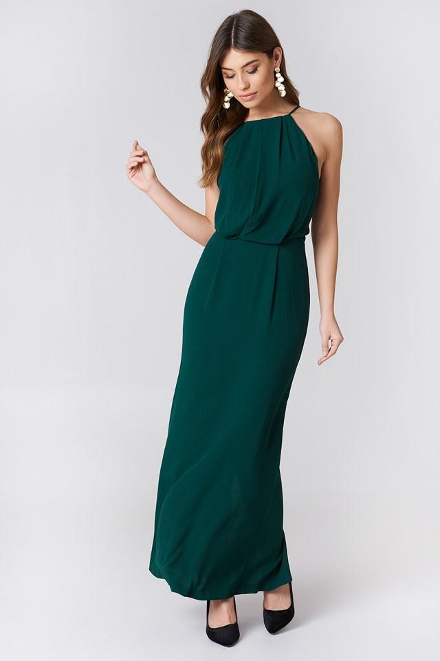 Willow Dress Long Ponderosa Pine   na-kd.com