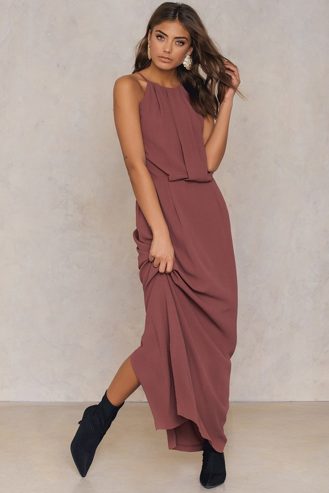 Willow Dress Long NA-KD.COM
