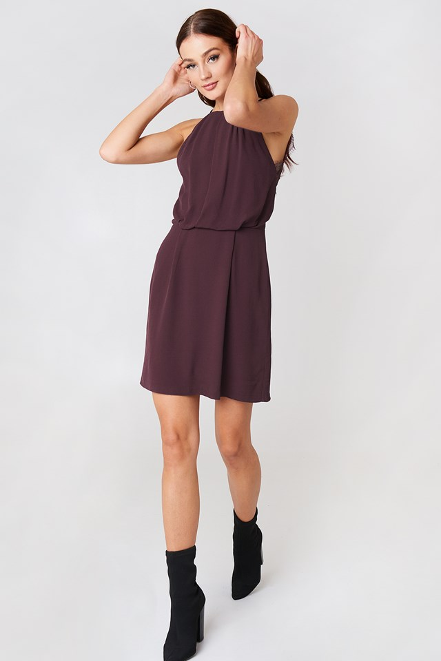 Willow Short Dress Winetasting