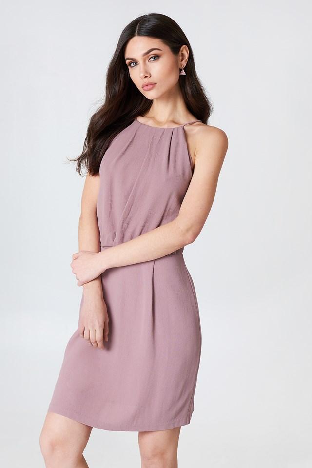 Willow Short Dress Woodrose