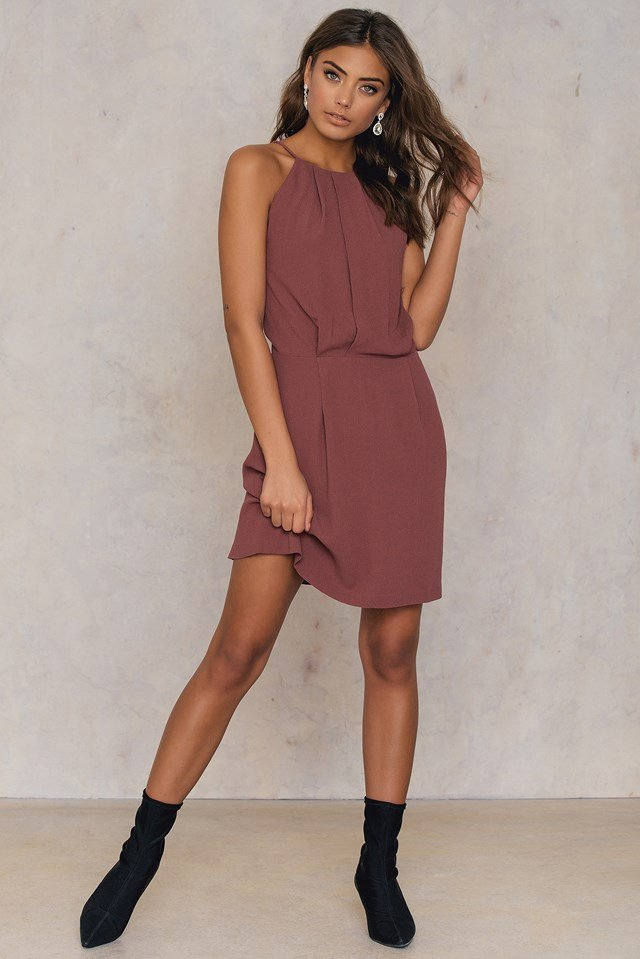 Willow Short Dress Apple Butter