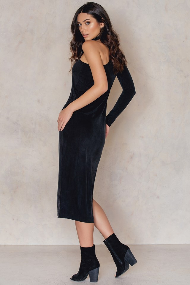 Shamir Long Dress Black