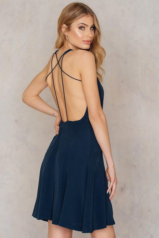 Sing S Dress Dark Sapphire