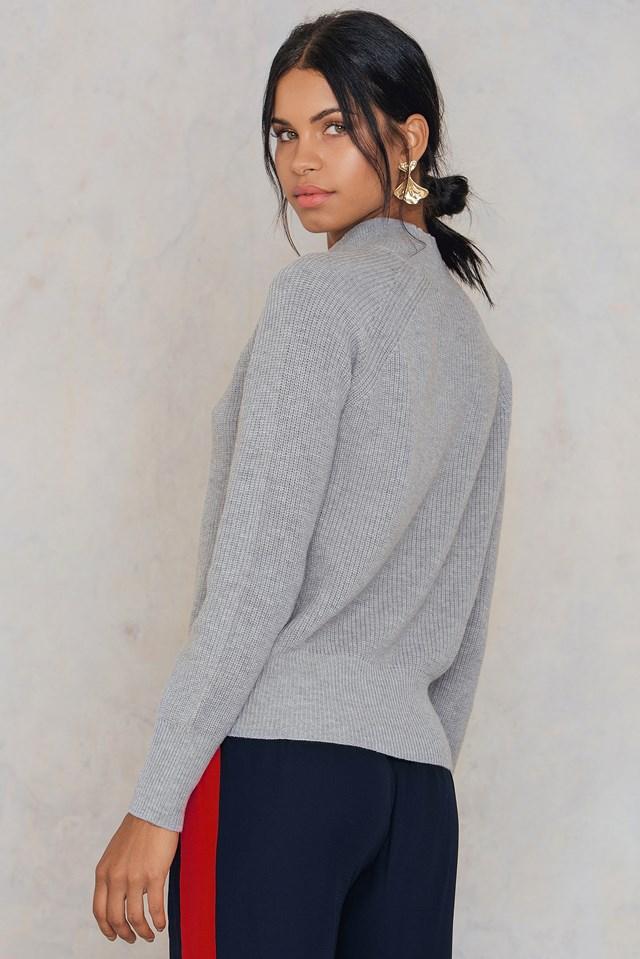 Staley T-N Sweater NA-KD.COM
