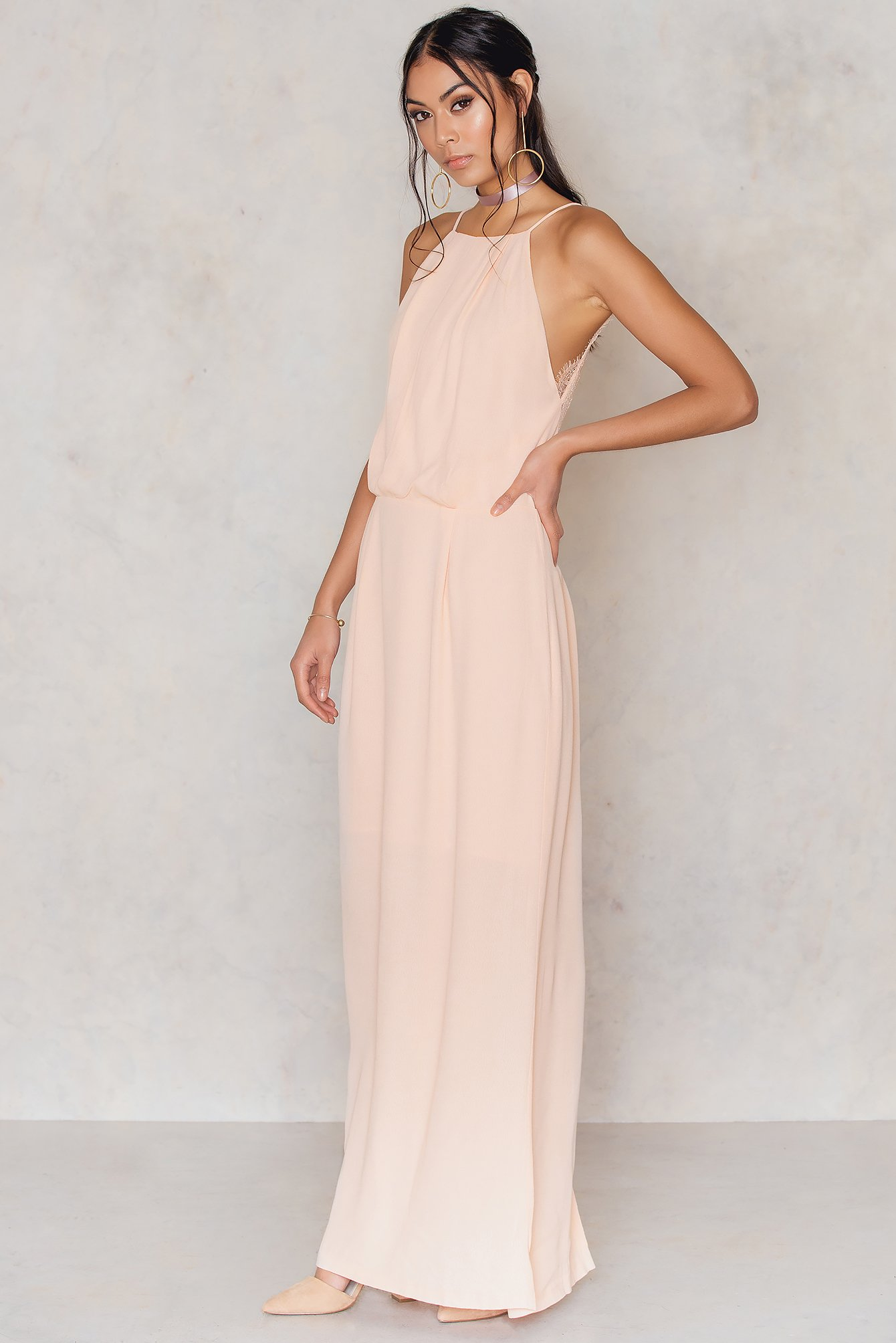 Cameo Rose Willow Dress Long